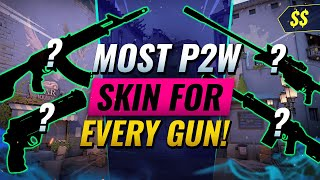 BEST PAY-TO-WIN Skin F๐r EVERY GUN! - Valorant