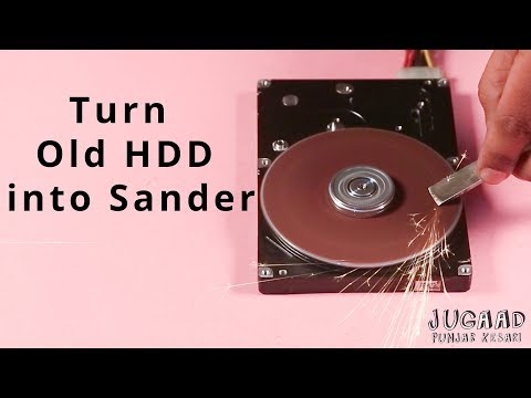 Turn Old HDD into Sander