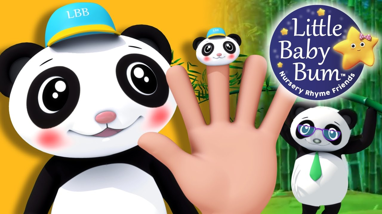 Finger Family Panda Family Nursery Rhymes By