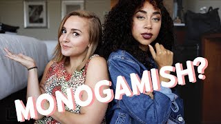 Monogamous Vs Open Relationships with Shan Boody | Hannah Witton