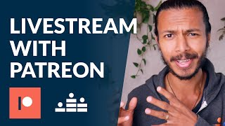 How to do members-only livestreams on Patreon with Crowdcast