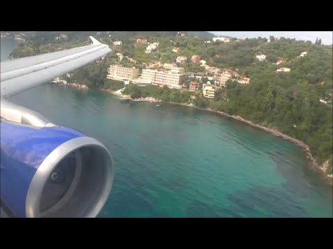 Thomas Cook Airbus A321-211 | London Gatwick to Corfu *Full