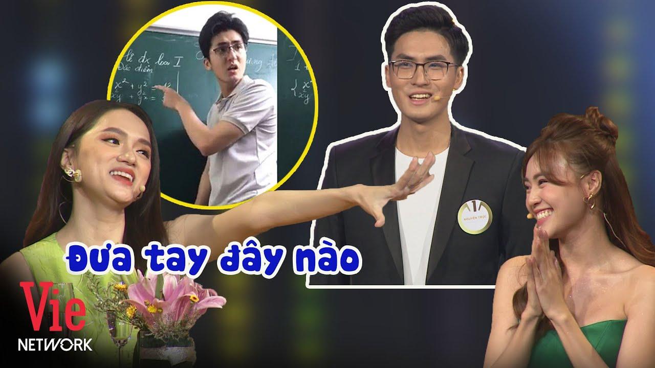 Hương Giang nhiệt tình thả thính thầy giáo dạy toán đẹp trai siêu cấp nổi tiếng mạng xã hội