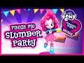 💫 Equestria Girls Minis Pinkie Pie Slumber Party Game for Children