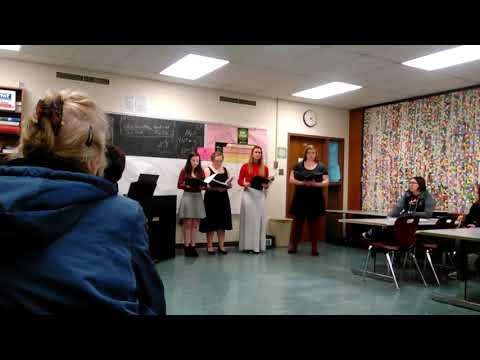Home solo and ensemble at new Holstein high school 2018