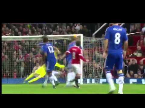 Juan Mata hits the CROSSBAR vs Chelsea - 2015