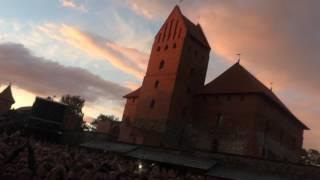 Evanescence live @ Trakai island castle in Lituania(21.06.17)-Lithium , My heart is broken