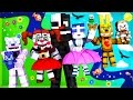 Fnaf Sister Location - Night 2 (minecraft Roleplay) video