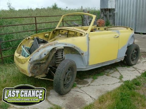1972 VW Beetle Convertible For Sale (Project Car ...