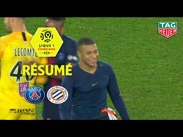Paris Saint-Germain - Montpellier Hérault SC ( 5-1 ) - Résumé - (PARIS - MHSC) / 2018-19