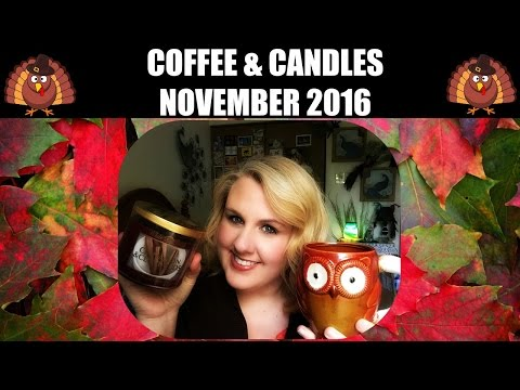 Coffee & Candles With Miss Angela *November 2016*