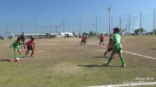 2017 第一回 沖縄少年サッカー選手権大会 トーナメント準々決勝 比屋根F...
