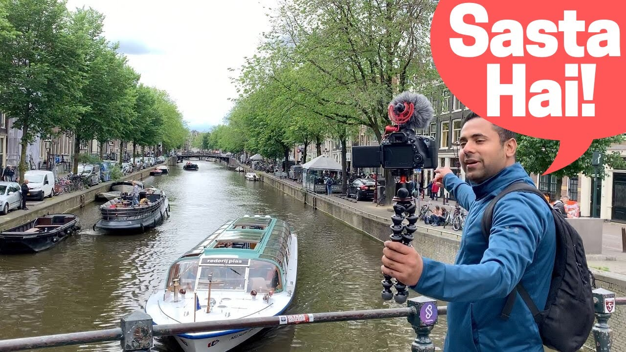 Download Amsterdam Rs. 1350 ₹ /Night! India to Amsterdam on a Budget, Traveling Desi's Amsterdam - Episode 1