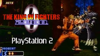 The King of Fighters 2000 playthrough (PS2)