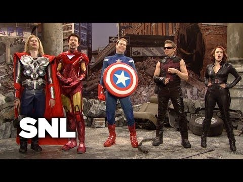 The Avengers - Saturday Night Live