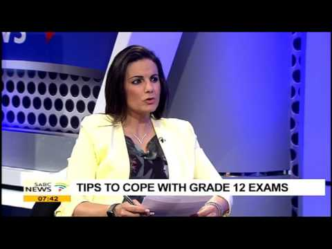 Tips to cope with grade 12 exams