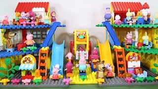 Peppa Pig Lego House With Water Slide Toys For Kids #9
