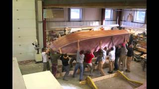 Wooden Boatbuilding Turning Of The Hulls