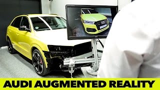 AUDI AUGMENTED REALITY | Innovations Forum 2015(Innovation Forum: Audi is presenting pioneering technologies: Pioneering technologies from the areas of development and production were shown in an ..., 2015-04-04T10:47:40.000Z)