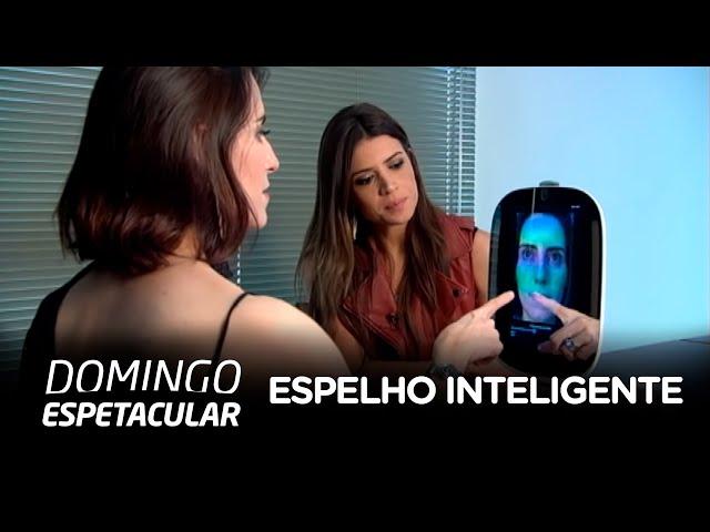 Espelho inteligente analisa saúde da pele e ajuda na escolha de looks
