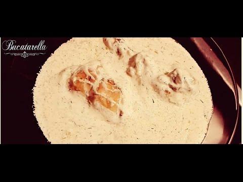 Pui în sos alb. Bucatarella.ro, blog culinar