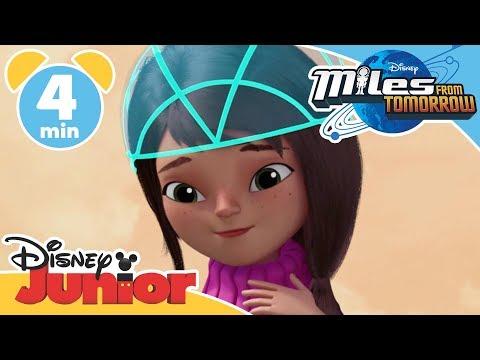 Miles from Tomorrow | The Angry Dinosaur | Disney Junior UK