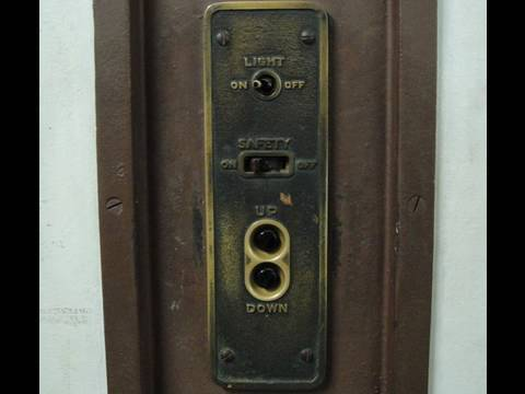 Amazing 1904 Monarch M Traction Freight Elevator Mostly Sofas Roanoke Va Manual Controller You