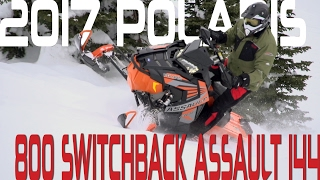 STV 2017 Polaris 800 Switchback Assault 144
