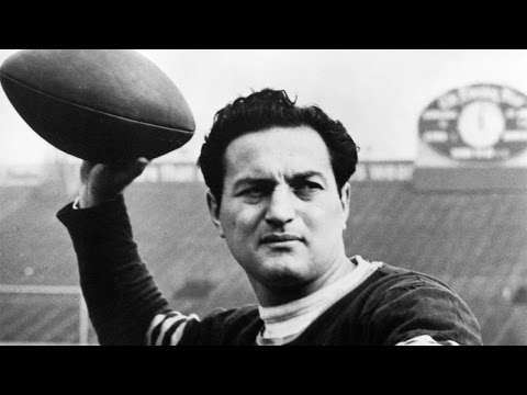 #33: Sid Luckman | The Top 100: NFL's Greatest Players (2010) | NFL Films