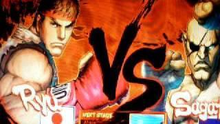 STREET FIGHTER 4 PC  ( TEST RUN CPU vs CPU )