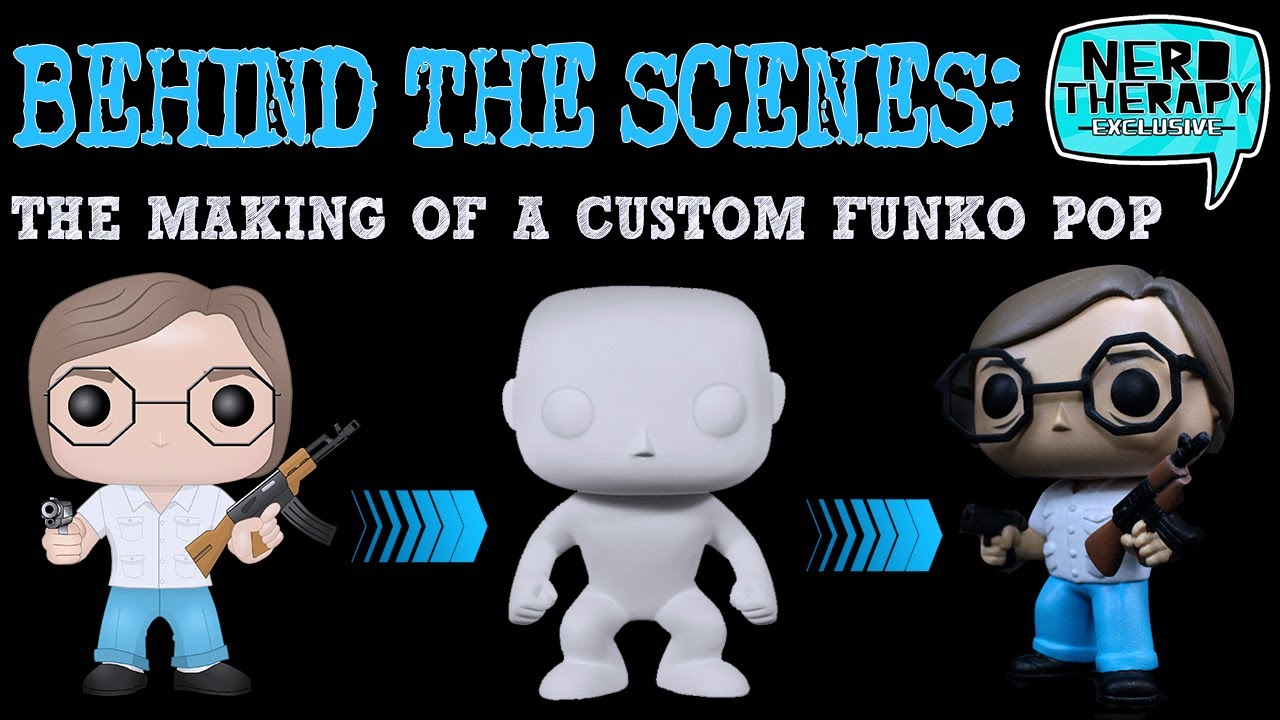 behind the scenes the making of a custom funko pop alvarez from