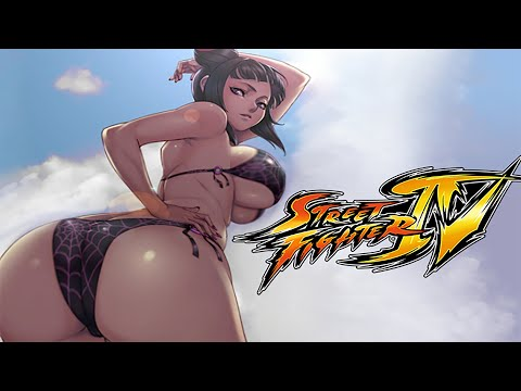 Super Street Fighter IV Rival Cutscenes with Mod Costumes - HD