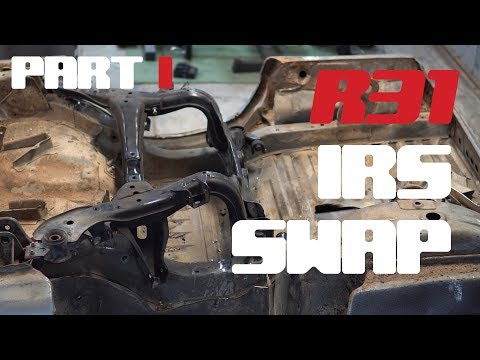 R31 IRS Conversion Part 1: Removing Factory Mounts