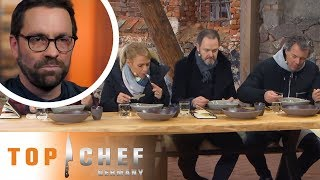 Verkostung Wildfleisch: War Serkans Team zu mutig beim Grillen? | Top Chef Germany | SAT.1