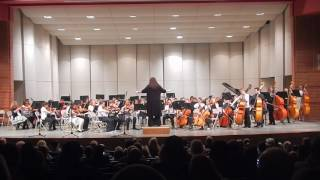 """Norfolk Middle School 5th Grade Orchestra """"Millipede Madness"""""""