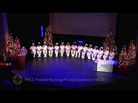 PRACTICAL NURSING PINNING FALL 2017