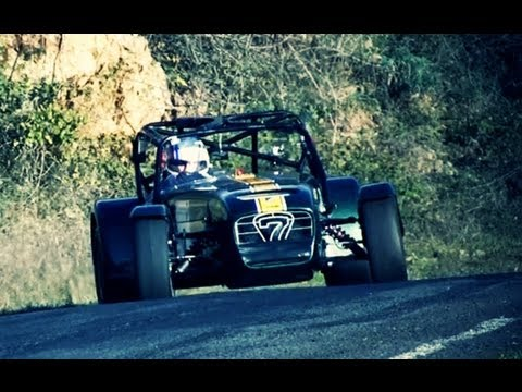 Caterham Superlight R600 Night Stage Sneak Peak Youtube