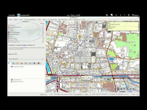 Charger des cartes OpenStreetMap dans son GPS Garmin avec QLandKarteGT sous Linux