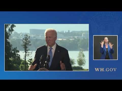 Press Conference: Joe Biden Holds a Press Conference in Geneva - June 16, 2021
