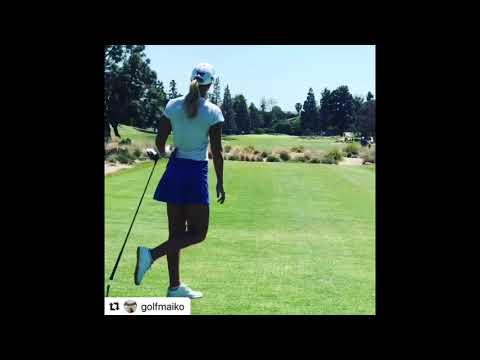 Anna Nordqvist beautiful golf swing motivation. #BestLadies #alloverthegolf