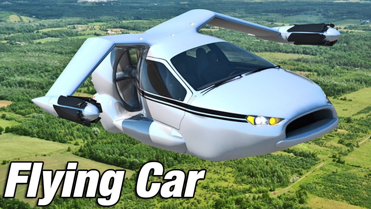 Future City Flying Cars
