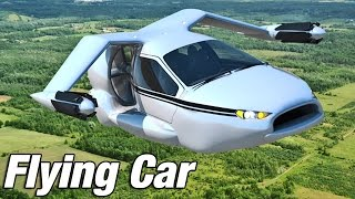 Repeat youtube video ► Flying Car - Terrafugia TF-X introduction