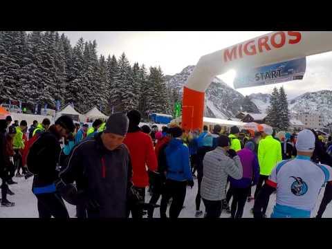 Swiss snow walk & run Arosa 2017