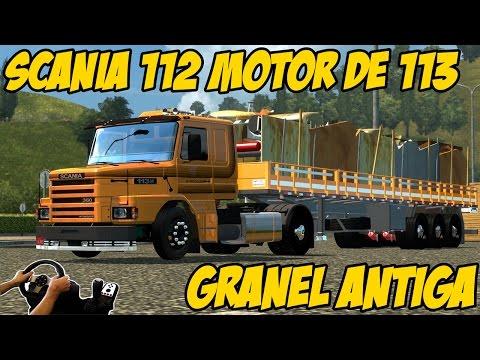SCANIA 112 COM MOTOR DE 113 - CARGA DE SUCATA - NOVOS TRECHOS