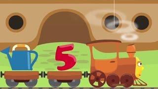 Таблица умножения на 4 - Тыр Тыр Трактор - Песенки для детей