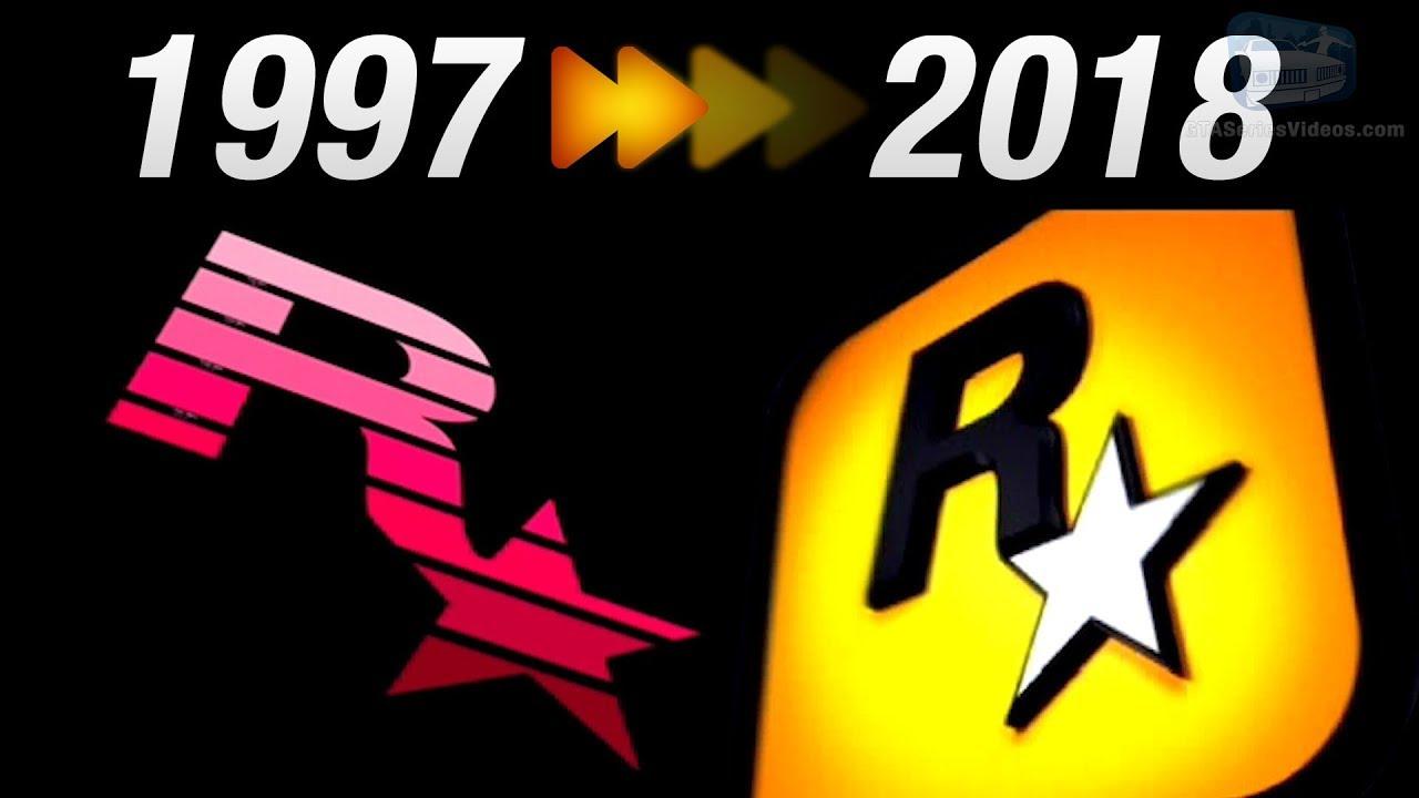 Evolution Of Rockstar Games Logo Intro 1997 2018 Youtube