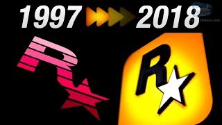 Evolution Of Rockstar Games Logo Intro  1997 - 2018