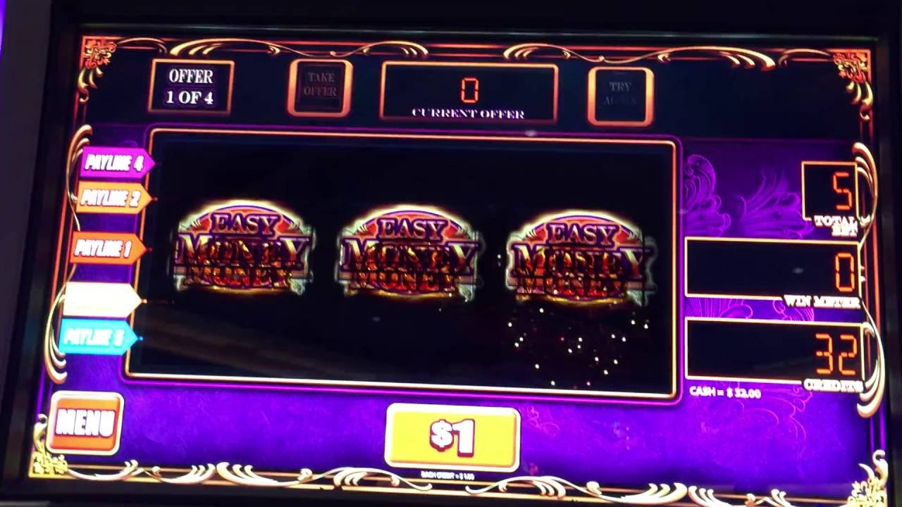 Easy money slot machine barcrest casino saint malo horaire