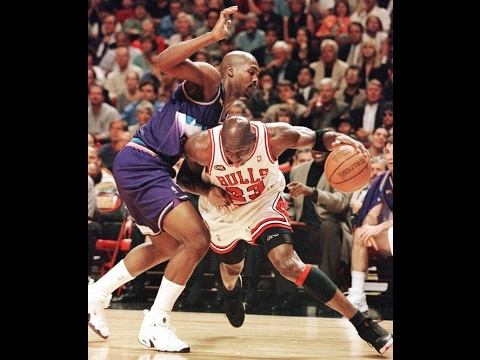 buena calidad lo mas baratas textura clara Michael Jordan vs Jazz (1997 NBA Finals Game 6) - 39 Pts, 11 Rebs ...