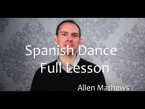 Spanish Dance for Classical Guitar - Full Lesson